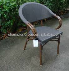 Woven Bistro Chairs As 6020 Metal Stackable Bistro Chairs Rattan Bistro Bamboo Chair