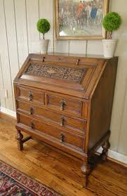 bureau ebay this one is lovely antique desk bureau carved