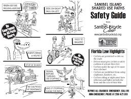 Sanibel Island Florida Map by Bikewalklee Blog Safety Guide And Map For Sanibel U0027s Shared Use Paths