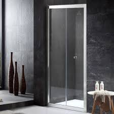 hinged glass shower door dreamline unidoor 36