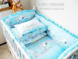 Snoopy Bed Set 100 Quality Bedding Sets Sky Blue Snoopy Crib Product Suite Baby