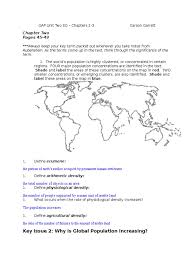 gap unit two study guide human migration immigration