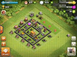 coc village layout level 5 exles of great defenses for every town hall level starting with 5