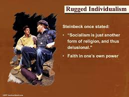 What Does Rugged Individualism Mean Written By Angelia Greiner The Early Years The Great Depression