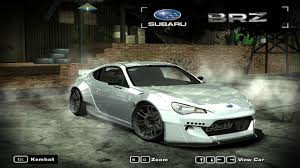 modded subaru brz need for speed most wanted cars by subaru nfscars