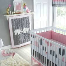 Grey Nursery Bedding Set Appealing Carters Crib Bedding Of Pink And Grey Set Trends Gray