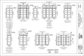 How To Draw Sliding Doors In Floor Plan Window And Door Cad Drawings H B S Inc