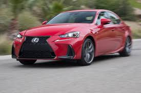 lexus is f usa 2017 lexus is 200t first test review motor trend
