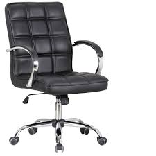 Low Leather Chair Xy 3004 Low Back Black Leather Chair
