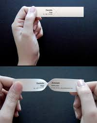 Clever Business Cards Clever Business Cards Designed For A Yoga Instructor To Read The
