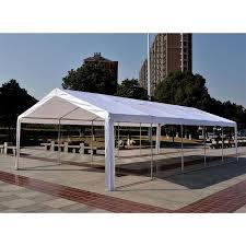 wedding tent for sale aosom outsunny white 32 x16 heavy duty carport canopy wedding
