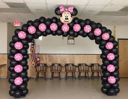 Mickey Home Decor Minnie Mouse Balloon Decorations Various Ways To Use Balloon