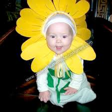 Flower Baby Halloween Costume Sunflower Lion Costumes Kids Hat Template Sunflowers