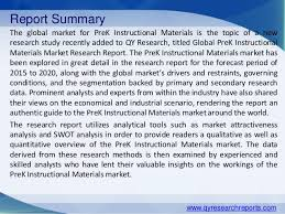 global pre k instructional materials industry 2015 market research re u2026