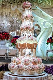 are these the most elaborate wedding cakes of all time cake