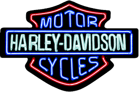 harley davidson lighted signs harley davidson neon lights embossed tin sign ande rooney signs