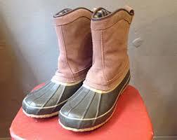womens ll bean boots size 11 ll bean duck boot 11 etsy
