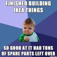 Ikea Furniture Meme - death by ikea meme on imgur