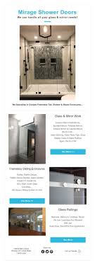 Mirage Shower Doors Mirage Shower Doors We Can Handle All Your Glass Mirror Needs