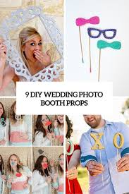 Wedding Photo Booth Backdrop 9 Cool Diy Wedding Photo Booth Props To Cheer Up The Pics