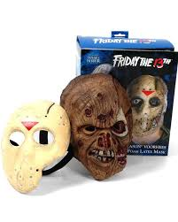 Friday 13th Halloween Costumes Friday 13th Latex Jason Hockey Mask Accessories