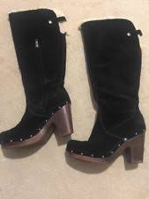 s ugg australia black adirondack boots schuh ugg australia s boots ebay