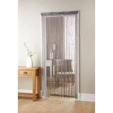 Light Silver Curtains String Curtains Sos Computer