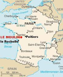 map of poitiers basic page