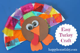 easy turkey craft happy home