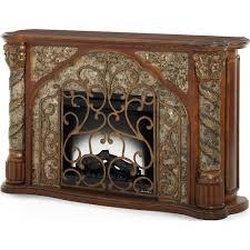 Michael Amini Furniture Aico Villa Valencia Fireplace Ai 72220fpl