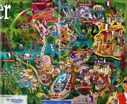 Busch Gardens Williamsburg Fall Fun Card - busch gardens williamsburg 2001 theme park maps pinterest