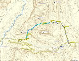Map Of Zion National Park Bluugnome Com Canyoneering Spry Canyon Zion National Park Utah