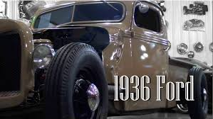 Vintage Ford Truck Signs - custom 1936 ford rod pickup v8 youtube