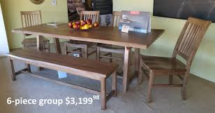 artisan and post simply dining solid maple dining u2013 schleider