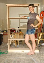 Free Standing Wood Shelves Plans by Best 25 Bookcase Plans Ideas On Pinterest Build A Bookcase