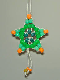 pony bead star ornament craftmeister mcuniverse