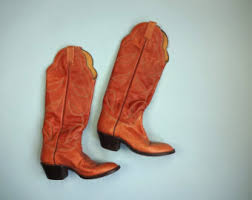 womens boots size 7 5 s cowboy boots etsy