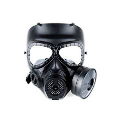 Halloween Gas Mask Costume Amazon Airsoft Paintbal Dummy Gas Mask Fan Cosplay