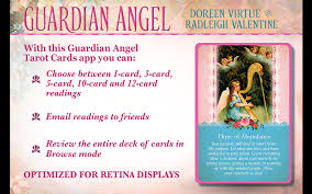 guardian tarot cards android apps on google play