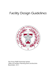 facility design guidelines docshare tips