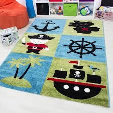 jugendzimmer teppich kinder teppich patchwork pirat multi jugendzimmer real