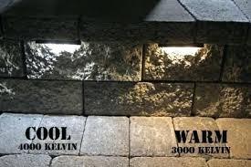 solar retaining wall lights retaining wall lights landscape lighting kits home depot lighting