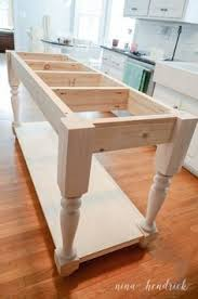 kitchen island table plans easy building plans build a diy kitchen island with free building