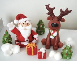 Christmas Cake Decorations Canada by Christmas Decorations Etsy