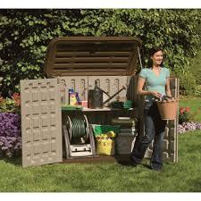 Suncast Shed Shelves by Suncast Horizontal Shed U2014 32 Cu Ft Model Bms3200 Resin Sheds