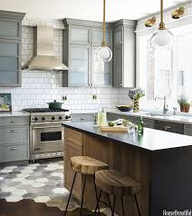 Brian Reynolds Cabinets A Chicago Kitchen In A Muted Palette Metals Family Kitchen And