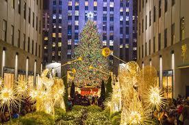 new york christmas tree lighting 2018 rockefeller center christmas tree lighting 29 11 2017