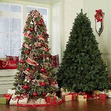 imposing design christmas trees at sears decorations home decor