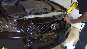 lexus isf grill lexis is250 blacked out vinyl wrap youtube