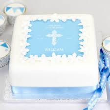 christening cake or baptism cake decorating kit by clever little